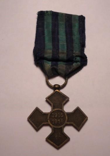Crucea Comemorativa a Primului Razboi Mondial 1916 1918
