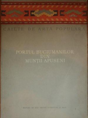 PORTUL BUCIUMANILOR DIN MUNTII APUSENI-NICOLAE DUNARE,MARCELA FOCSA foto
