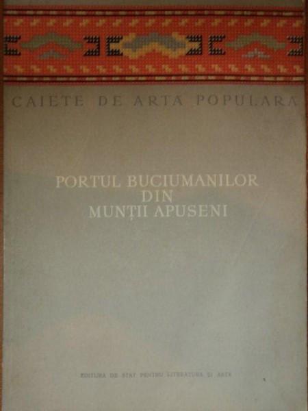PORTUL BUCIUMANILOR DIN MUNTII APUSENI-NICOLAE DUNARE,MARCELA FOCSA