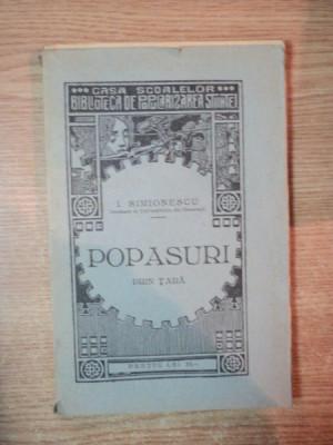 LECTURI GEOGRAFICE , POPASURI DINSPRE TISA PANAN'N NISTRU de I. SIMIONESCU , Bucuresti 1930 foto