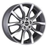 Jante RENAULT LATITUDE 7J x 17 Inch 5X114,3 et40 - Mak Highlands Silver, 7, 5