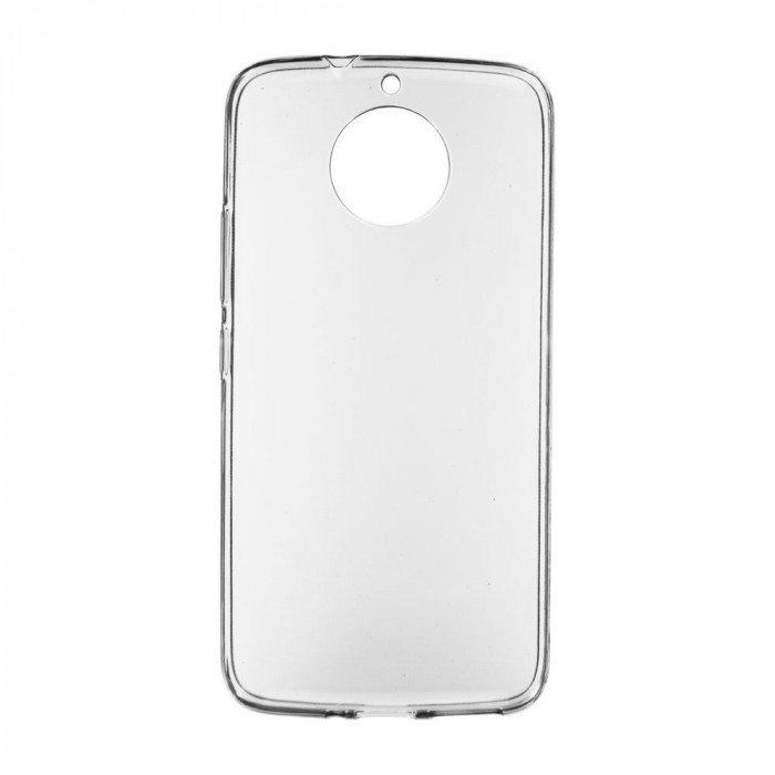 Husa Slim TPU pentru Motorola Moto G6 Plus, 0.5mm, Transparent foto mare