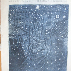 Hiena 1923 ianuarie 14 Desene Victor Ion Popa  Ionescu – Sion Tonitza Maur