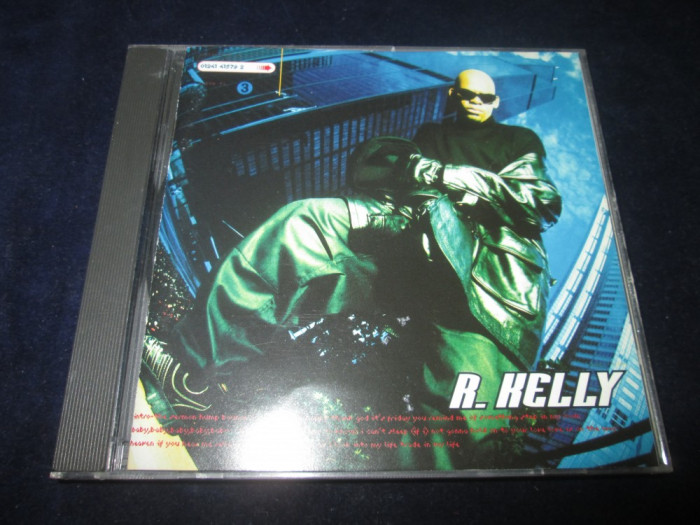 R.Kelly - R.Kelly _ CD,album _ Jive (SUA,1995) foto mare