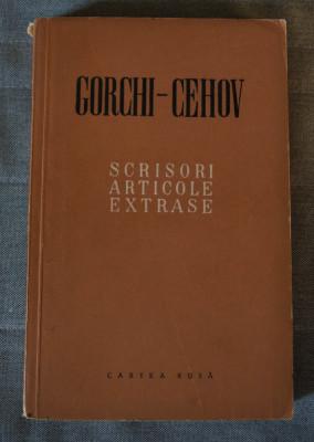 Gorchi (Gorki) - Cehov - Scrisori. Articole. Extrase foto