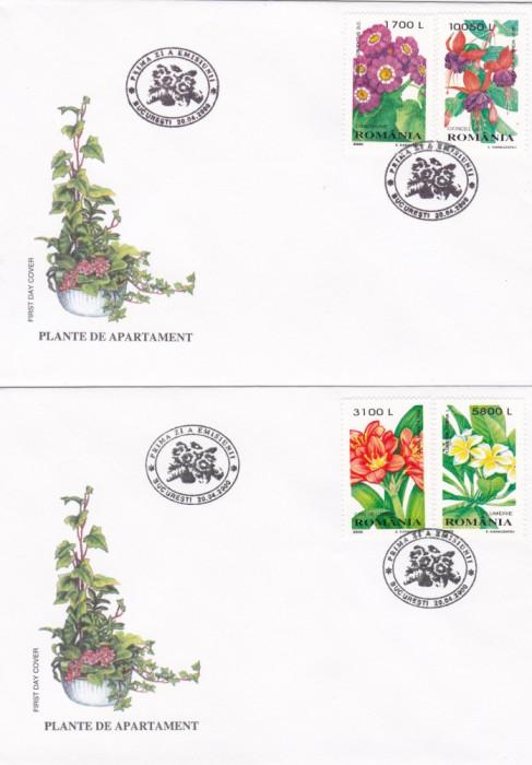ROMANIA 2000  LP 1510  PLANTE DE APARTAMENT  FDC