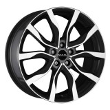 Jante TOYOTA MR2 7J x 17 Inch 5X114,3 et40 - Mak Highlands Black Mirror, 7, 5
