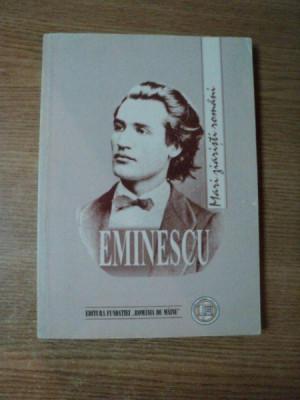 M. EMINESCU ZIARISTICA de GEORGETA MITRAN , 2000 foto