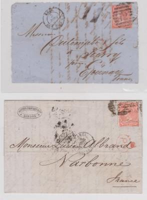 timbre vechi Anglia si Franta foto