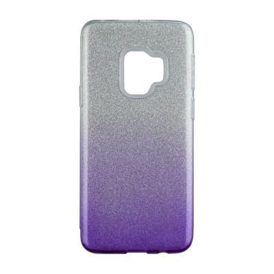 Husa Blink pentru Samsung Galaxy J6 (2018), Violet/Argintiu foto