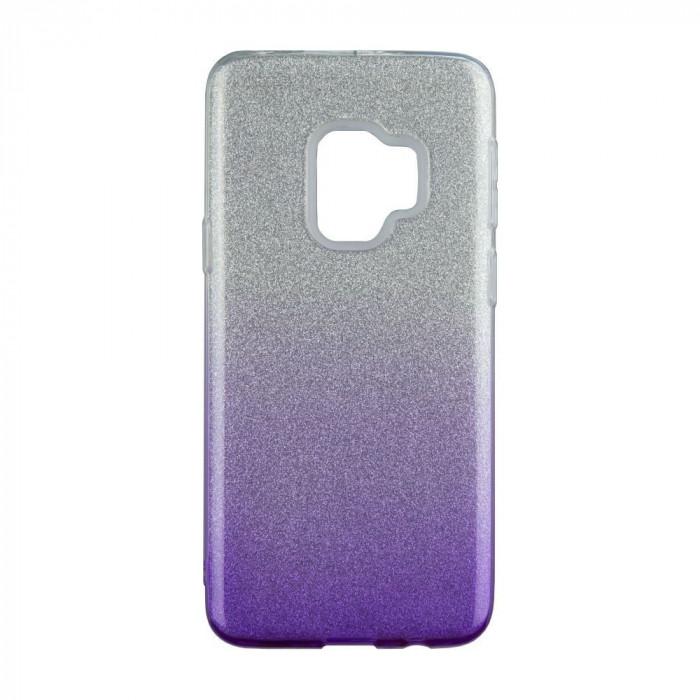 Husa Blink pentru Samsung Galaxy J6 (2018), Violet/Argintiu foto mare