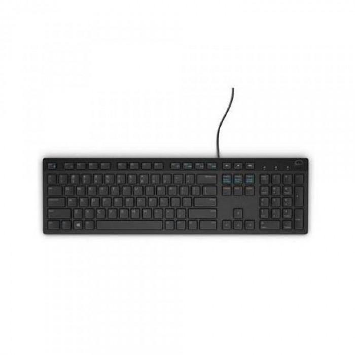 Tastatura Dell KB216 , Multimedia , USB , Negru