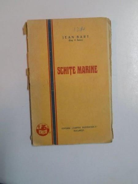 SCHITE MARINE de JEAN BART 1928 foto mare