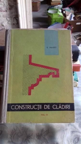CONSTRUCTII DE CLADIRI - STEFANESCU GH. VOL.3