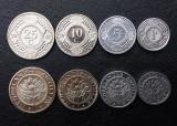 ANTILELE OLANDEZE █ SET DE MONEDE █ 1+5+10+25 Cents █ 2005-2010 █ UNC