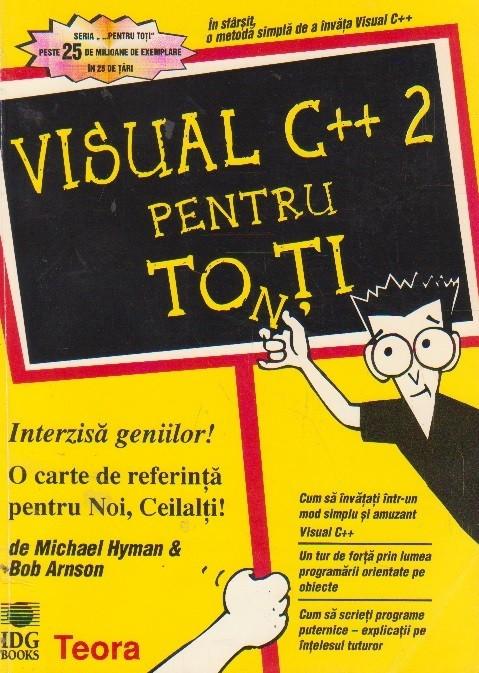 Visual C++ 2 pentru toti foto mare