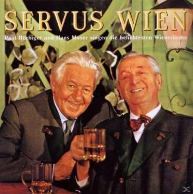 Paul & Hans Mo Hoerbiger - Servus Wien ( 1 CD ) foto