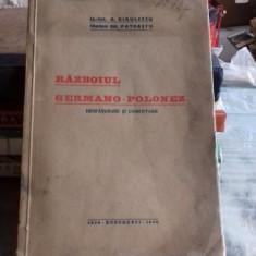 RAZBOIUL GERMANO POLONEZ - R. DINULESCU