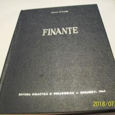 Finante- vol I, iulian vacarel an 1965
