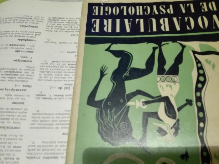 Vocabulaire psychologie 1957   Precis de psychiatrie 1923 foto mare