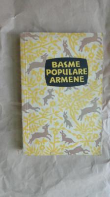 Basme populare armene (33 basme )- 397pag/an 1958 foto