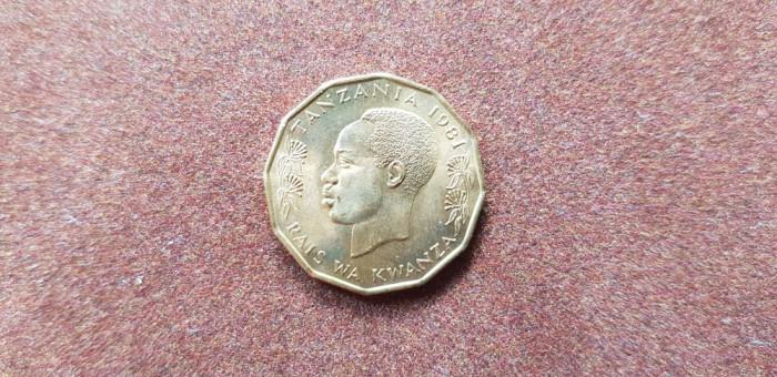 Tanzania 5 senti 1981 a unc foto mare