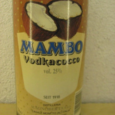Vodka mambo vodkacocco, cl 70 gr 25 ani 90