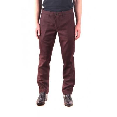 Pantaloni Barbati Jacob cohen Bordo 103090 foto