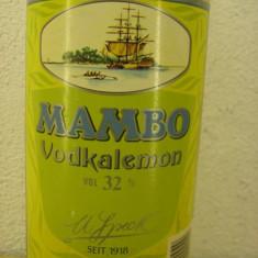 Vodka mambo vodkalemon, cl 70 gr 32 ani 90