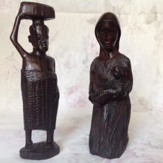 Sculptura africana din lemn foarte dur