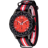Ceas barbatesc Detomaso Firenze Stripes Red DT1070-A, Casual
