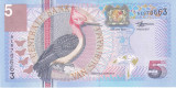 Bancnota Suriname 5 Gulden 2000 - P146 UNC