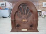 RADIO DEOSEBIT CU ASPECT VINTAGE ANII 60 INTRATEX  1233S CHARLESTON IMPECABIL, Analog, 0-40 W