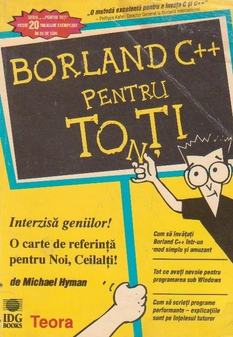 Borland C++ pentru toti foto mare