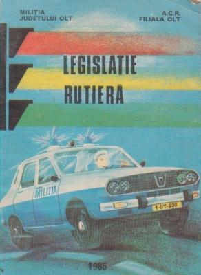 Legislatie rutiera (culegere de acte normative) (1984) foto