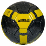 Minge de Fotbal Liveup - Marimea 5. Negru cu Galben!