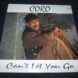 "Caro - Can't Let You Go _ vinyl,12"" _ Cutting Rec. (SUA,1990) _ freestyle,house, VINIL"