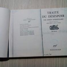 TRAITE DU DESESPOIR (copie xerox) - Soeren Kierkegaard - 1949, 255 p.