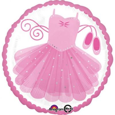 "Balon Folie 45 cm ""Ballerina Tutu"", Amscan 35142 foto"