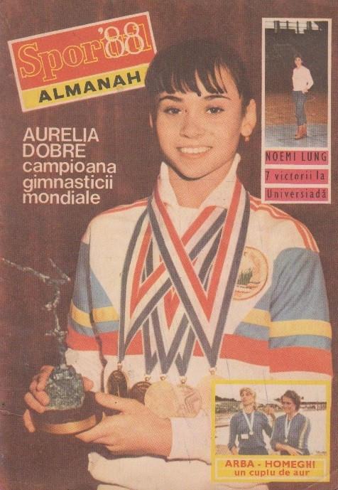 Almanahul Sportul 1988 foto mare