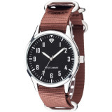 Ceas dama Yves Camani Unisson Brown, Casual