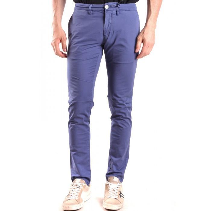 Pantaloni Barbati Siviglia Albastru 102823 foto mare