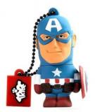 Stick USB Tribe Marvel Captain America FD016501, 16GB, USB 2.0 (Multicolor)