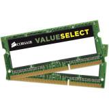 Memorie SODIMM DDR3L kit 8GB (2x 4GB) 1600MHz CMSO8GX3M2C1600C11, Corsair