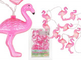 Ghirlanda luminoasa led cu flamingo pentru petrecere - ca. 1,65 m, Radar 57/8018