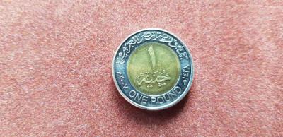 Egipt 1 lira 2007 a unc foto