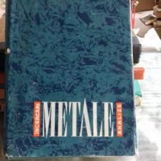 INCERCARI SI ANALIZE DE METALE - ST. NADASAN