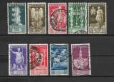 Italia 1937, serie incompleta, Stampilat