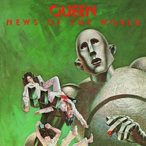 Queen News of the World LP Black Vinyl Ltd. Ed (vinyl)