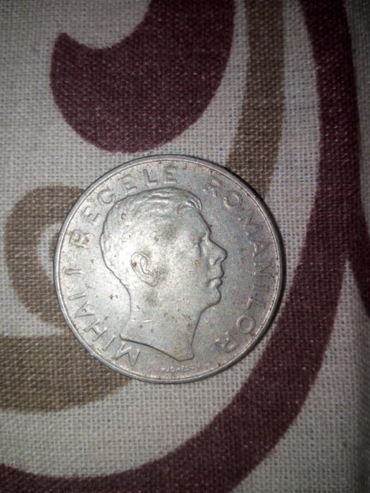 14 Monede 100 lei Regele Mihai I 1944 foto mare